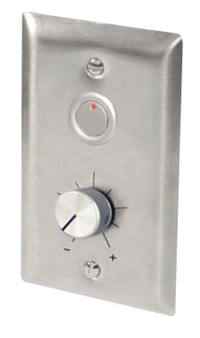 Wall Plate with Rotary Setpoint